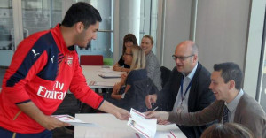 Lunchtime German lessons for Arsenal staff