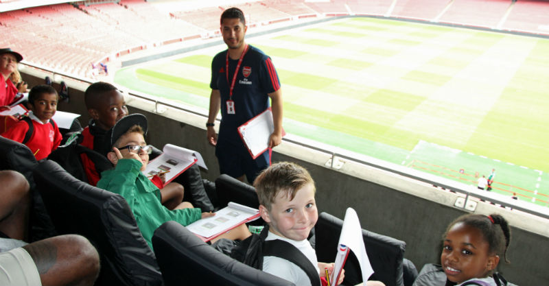 Language Day visit at Emirates Stadium